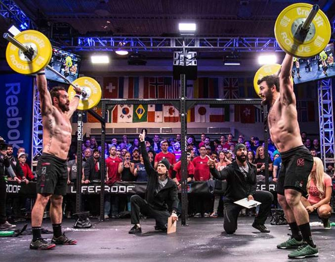 Froning and Fraser doing 15.1